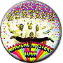 Magical Mystery Tour Music Pin-Badge Magnet
