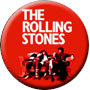 Stones Red Music Magnet