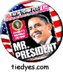 Obama NY Post Democratic Presidential Magnet (Pin, Badge) Magnet