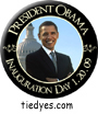 President Obama Inauguration Day Democratic Presidential Magnet