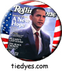 Obama Rolling Stone Democratic Presidential Magnet (Pin, Badge) Magnet