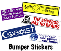 Custom Political Stickers