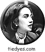 Hillary Clinton as a young Lawyer Liberal Democratic Political Magnet (Badge, Pin)